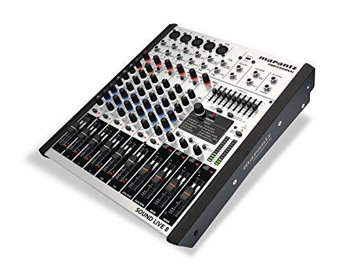 Marantz Professional Sound Live 8 | 8-channel/2-Bus Tabletop Mixer with 5 XLR Inputs + Mic Preamps [並行輸入品]   B078HZBCVP