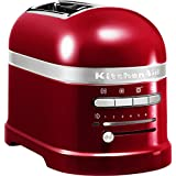 KitchenAid - 5KMT2204ECA - Grille-pains, 1250 watts, Rouge
