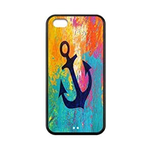 MMZ DIY PHONE CASECustom Anchor Back Cover Case for ipod touch 5 JN5C-403