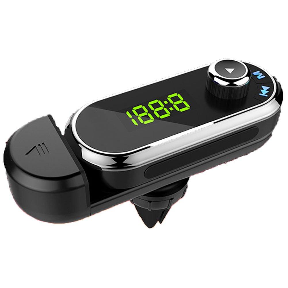 Braceus 3.5mm Universal Car Bluetooth FM Transmitter MP3 Player Hand-free Calling Holder