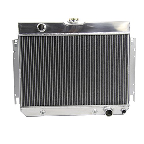 - ALLOYWORKS 3 Row Aluminum Radiator for Chevy Bel Air Biscayne Caprice Chevelle El Camino Impala 1963-1968