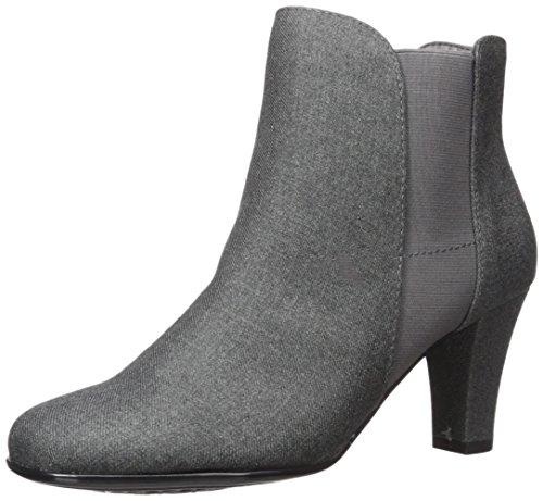 Aerosoles A2 Women's Strole Along Ankle Boot, Grey Wool, 10.5 M US