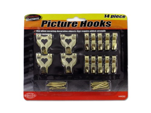 Sterling HH052 Picture Hook Set Case of 144 by Sterling