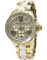 ساعة كاجوال انالوج للنساء من مايكل كورس، ستانلس ستيل - MK6157