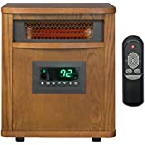 YOUZEE 6 Element Smart Boost Portable Infrared Quartz Electric Space Heater