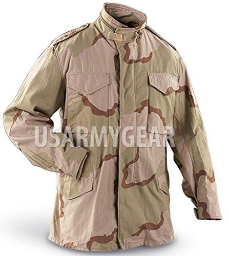 - US MILITARY FIELD JACKET Desert ARMY COAT Jacket M-65 w. Liner Medium M/XS