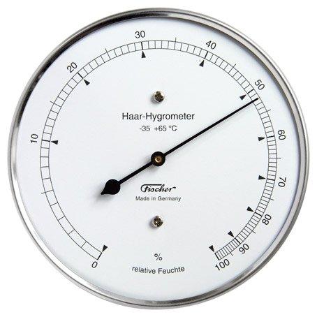 Auf der Suche nach einem guten Hygrometer werden Sie bei der Marke Fischer fündig.