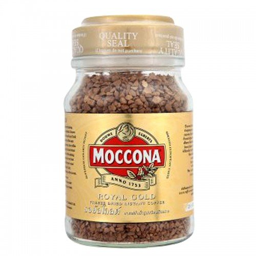 MOCCONA ROYAL COFFEE BEANS GOLD 100 G BOTTLE