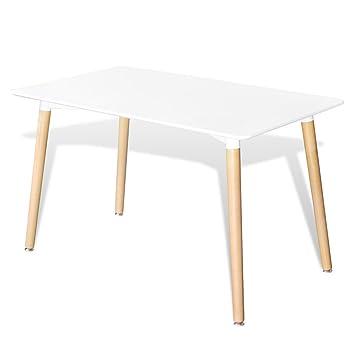 Anself 120 X 70 X 75cm Table Rectangulaire Haute Qualité Pour Votre