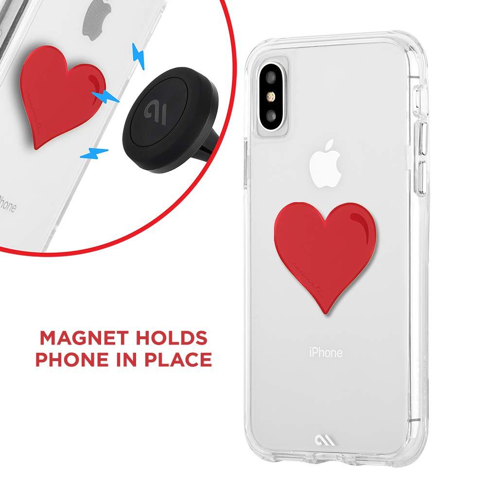 Decorative Metal Plate Magnetic Car Vent Mount Carbon Fiber CM038950 CAR Charms Case-Mate