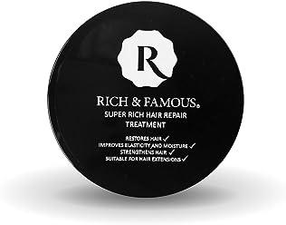 Rich & Famous Super Rich Hair Repair Treatment 100ml For Dry Damaged Hair Strengthens Hair Rebuilds