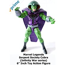 """Review: Marvel Legends Serpent Society Cobra (Infinity War series) 6"""" Inch Toy Action Figure"""