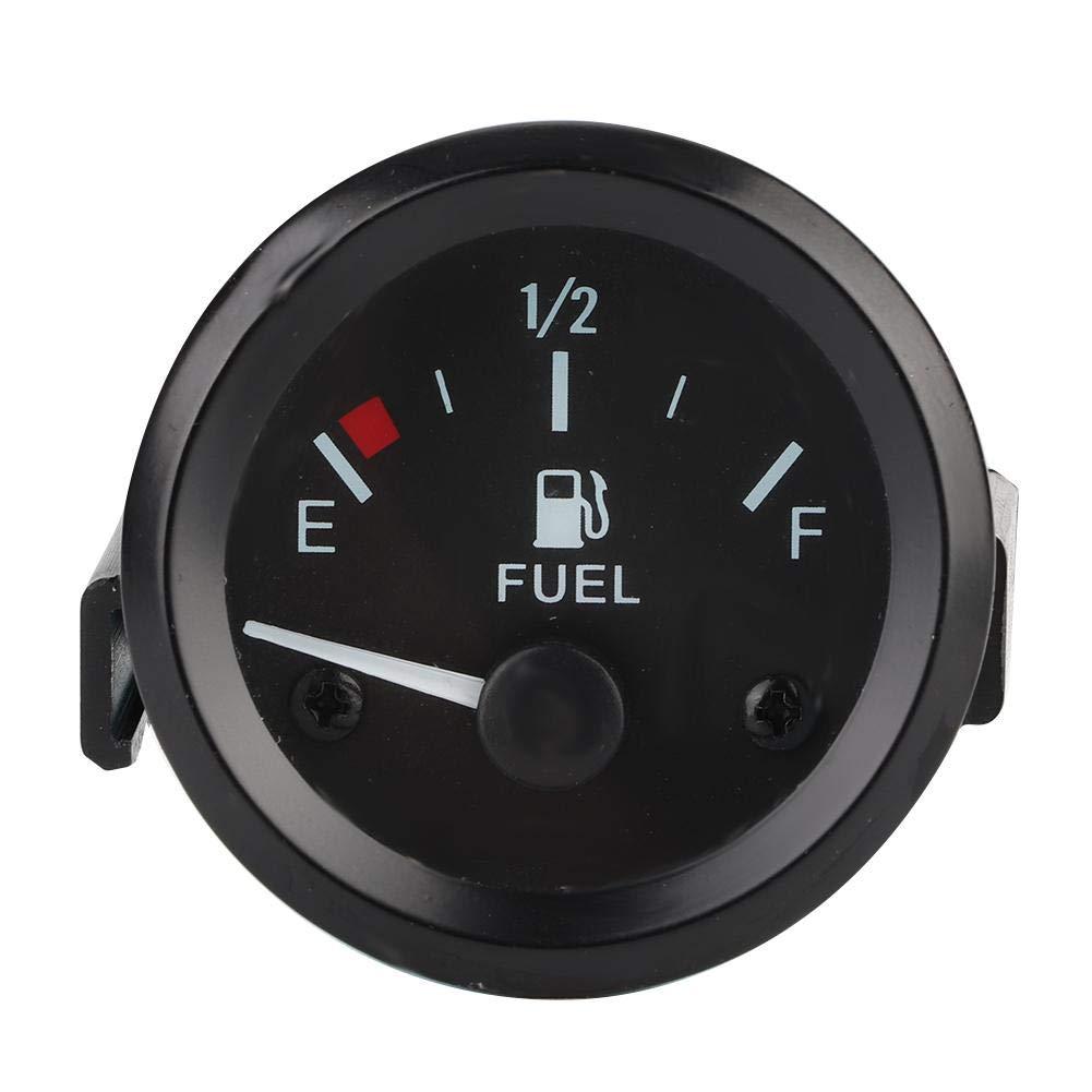 Fydun Fuel Level Gauge Car Fuel Level Gauge LED Digital E-1/2-F Range with Fuel Sensor 52mm Universal by Fydun