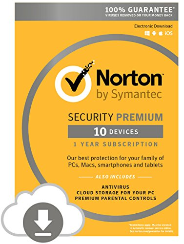 Norton Security Premium - 10 Devices for Students [Online Code]
