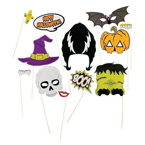 Halloween Stick Photo Booth Props (1 Dozen)]()