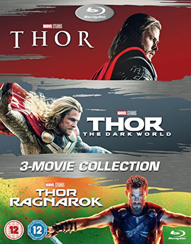 (Thor 1-3 Box Set BD [Blu-ray] [2017] [Region Free])