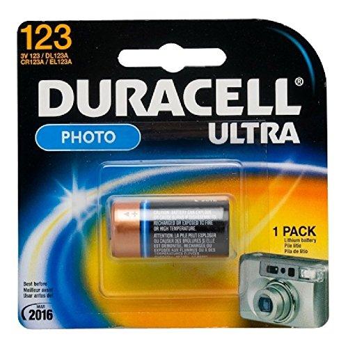 Duracell Ultra Lithium Photo Battery (123), 3 Volt (PKG of ()