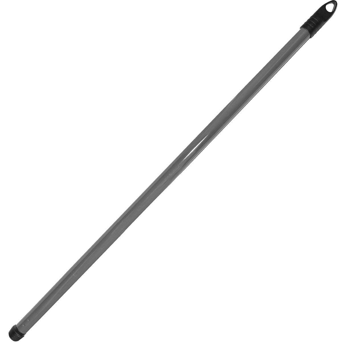 Bürstenmann Metal Broom Handle, 130cm/22 mm, Grey
