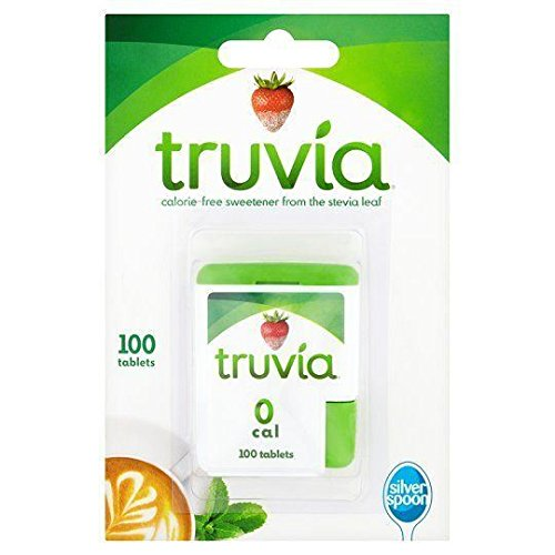 Price comparison product image Truvia Truvia Sweetener - Tablets 100s (Pack of 4)