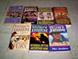 img - for William W Johnstone - (Set of 7) - Not a Boxed Set (The Last Mountain Man - Reprisal - The Family Jensen : Helltown Massacre - Heart of the Mountain Man - Betrayal of the Mountain Man - The Last Gunfighter : The Drifter) book / textbook / text book