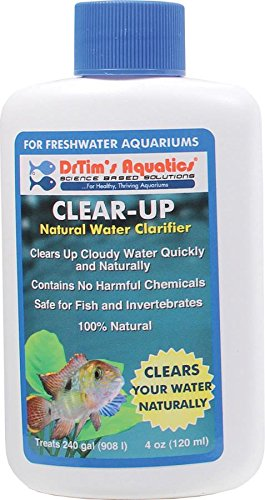 DrTim's Aquatics Clear Up Natural Water Clarifier, Freshwater 4 oz
