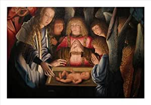 Adoration of the Christ Child 20x30 Archival Ink-Jet, Print and Framed