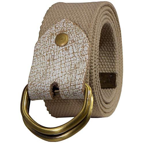 Honeybadger Men's casual belts  Color   Beige