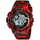 Burgmeister Men's BM803-024 Digital Display Quartz Red Watch