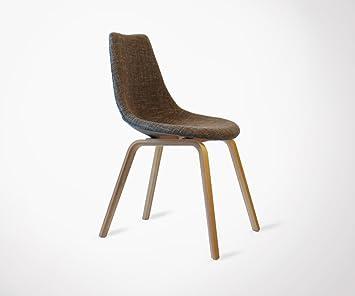 Meubles Design Chaise Salle A Manger Scandinave Olga Rembourree