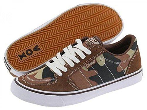 Vox Skateboard Schuhe Drehobl Desert Cammo