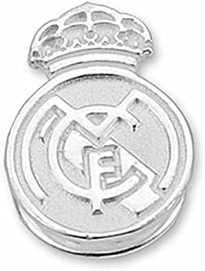 Pin escudo Real Madrid Plata de ley liso [6828] - Modelo: 30-061-L ...