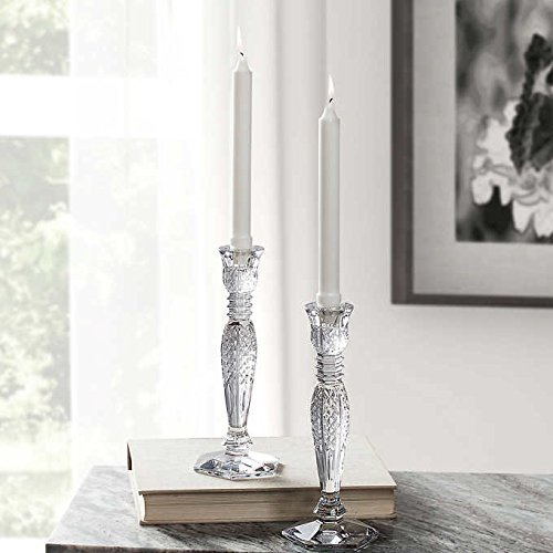 Waterford Bethany Crystal Candle Holder 2-pack