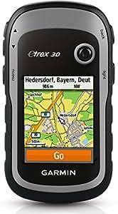 "Garmin Etrex 30 - GPS portátil (pantalla 2.2"", mapa base mundial), color negro"