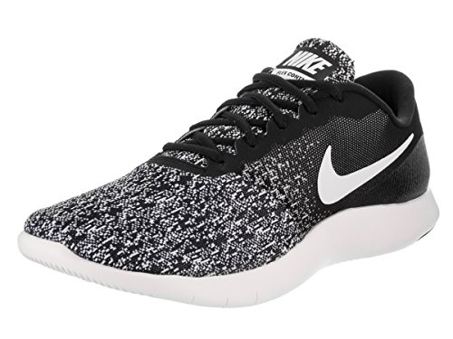 Nike Men's Flex Contact Black/White Running Shoe 10.5 Men US