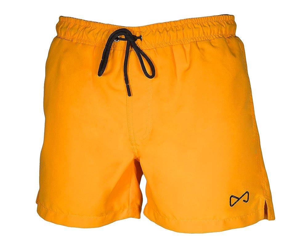 Illogico Herren Badeshort Orange Arancione