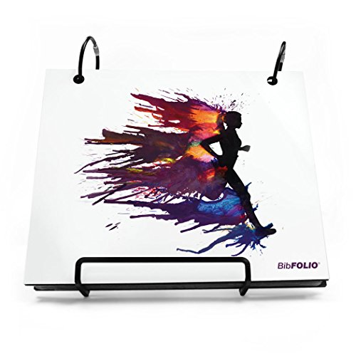 Gone For a Run BibFOLIO Race Bib Album | Bib Holder Runnergy | Colorburst