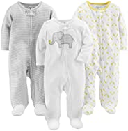 Simple Joys by Carter's Baby 3-Pack Neutral Sleep and P