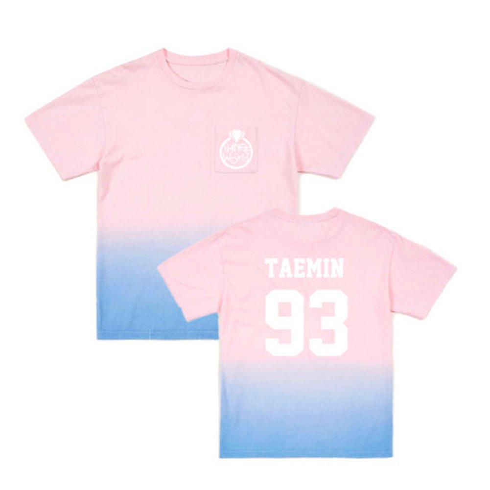 Discovery Shinee K-Pop T-Shirt - Pop Coréenne Royaume-Uni Percée Pop Band Sud-Coréenne Pour les Hommes Femmes Tee Shir