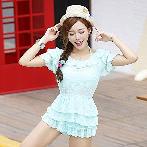Dimagrante Pezzi Color Jacket Tre Series No Style Tianlu Da Sexy Pure Set Beachwear Bikini Costume L Bagno Black 7xt6v