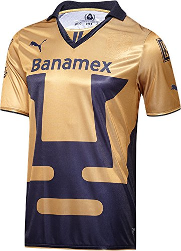 Puma Pumas King Shirt, Navy-Team Gold, S