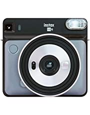 Fujifilm Instax SQ EX D Instant Camera, Directe camera, Graphite Grau, Square