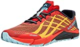 Merrell Men's Bare Access Flex Shield Fitness Shoes Red Play Digital, 11 (46 EU)