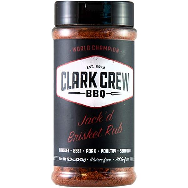 Amazon.com : BBQ RUB JACK BRSK 12OZ : Grocery & Gourmet Food