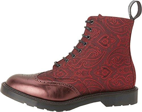 Dr. Martens Hombres Calder Botas Cherry Red