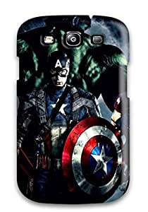 Durable Protector Case Cover With The Avengers 50 Hot Design For Galaxy S3 4065934K83682597