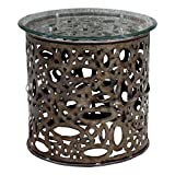 24 in. Industrial Accent Table Review