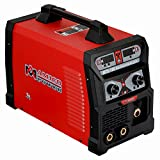MTS-165 165 Amp MIG/TIG-Torch/Stick Arc Combo Welder, Weld Aluminum(MIG) 110/230V Dual Voltage Welding New