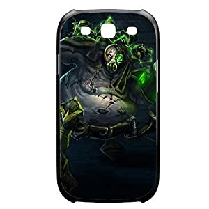 Urgot-001 League of Legends LoL For Case Iphone 4/4S Cover Plastic Black