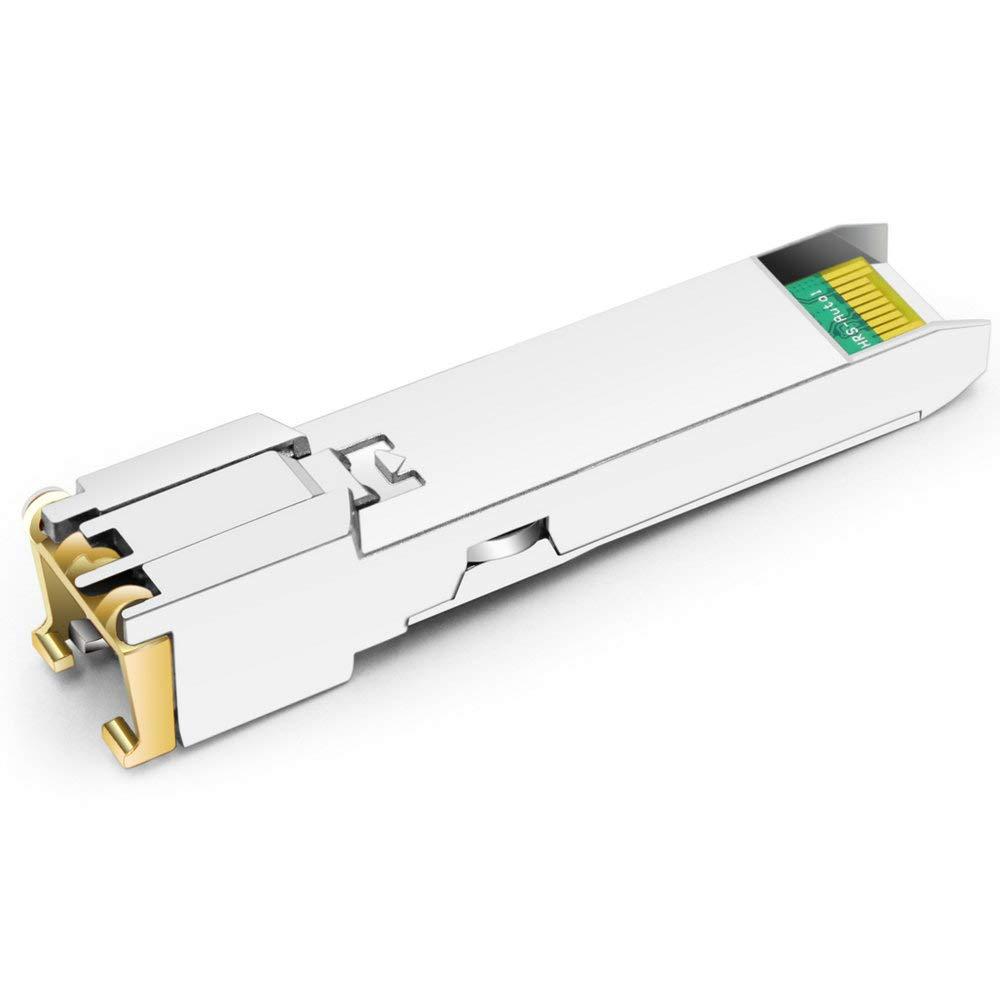 LC 1310nm 1G SFP for Juniper QFX-SFP-1GE-LX EX-SFP-1GE-LX SRX-SFP-1GE-LX 1000BASE-LX Mini-GBIC Network Transceiver Module SMF 20km//10km DOM