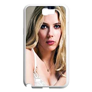 Samsung Galaxy N2 7100 Cell Phone Case White_Scarlett Johansson Sexy Actress Star KJ9991657